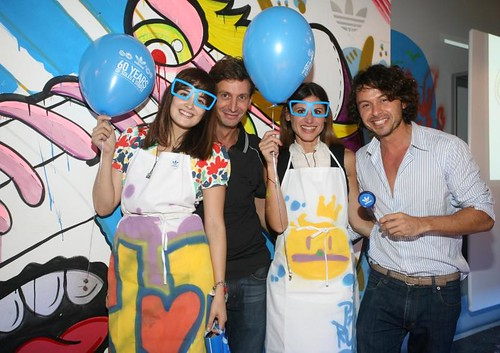 Flor Torrente, Martin Arozarena, Pato Dalpra y Wally Diamante