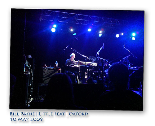 Bill Payne | Little Feat | Oxford