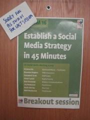 IIA Congress 2009 Social Media Workshop Workshops