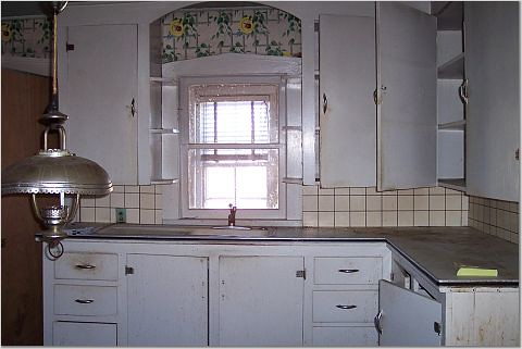 Would You Preserve These 1930 S Kitchen Cabinets