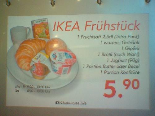 Ikea Spreitenbach Frühstück gefällig 25.02.06