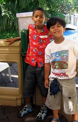 Jeric and Dylan