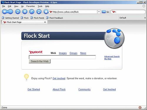 Yahoo! Flock