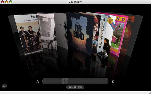 CoverFlow in Action