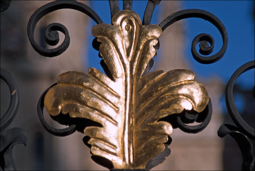 All Souls gate detail
