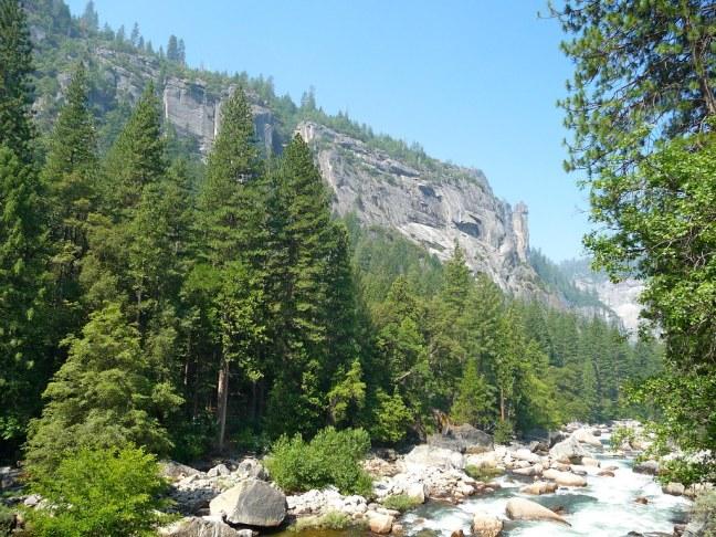 Typical view at Yosemite