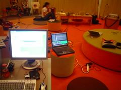 Syn-Urbania recording session