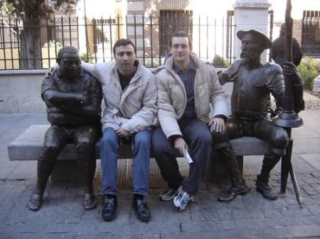 Sancho, Dani, Txapu y El Quijote