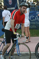 My hubby at the Nautica South Beach Triathlon 2009