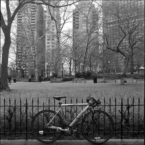 Rittenhouse Square bicycle