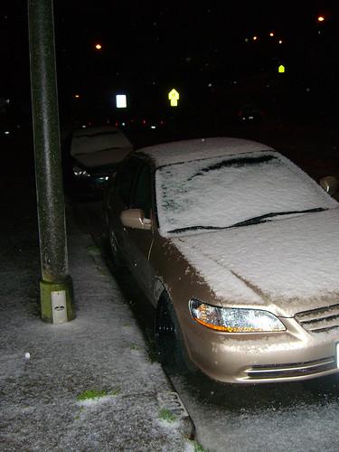 Snow in San Francisco???
