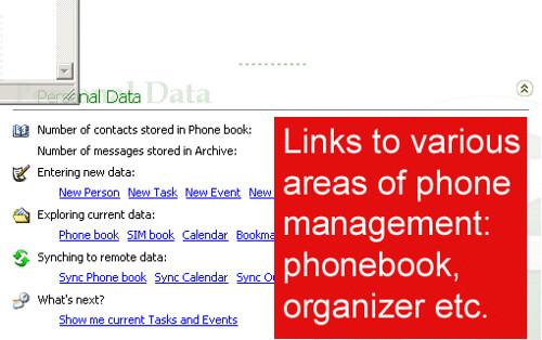 Float's Mobile Agent phone data management
