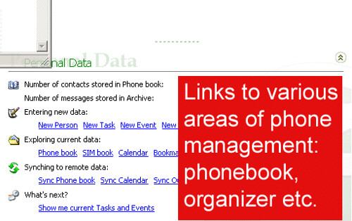 Float's Mobile Agent phone data management