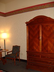 Armoire in Hotel Room, Chateau Sonesta, New Orleans