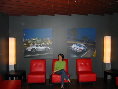 Porsche Lounge