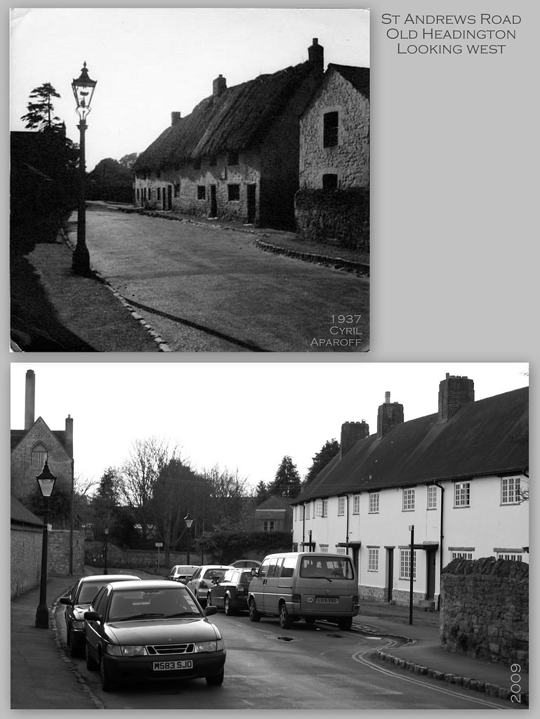 St Andrews Road - 1937 and 2009