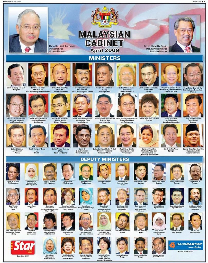 Malaysian Cabinet 2009