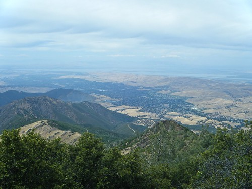 View from summit of Mt. Diablo