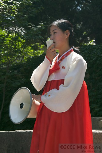 North Korean Tour guide