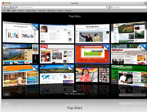Apple Top sites