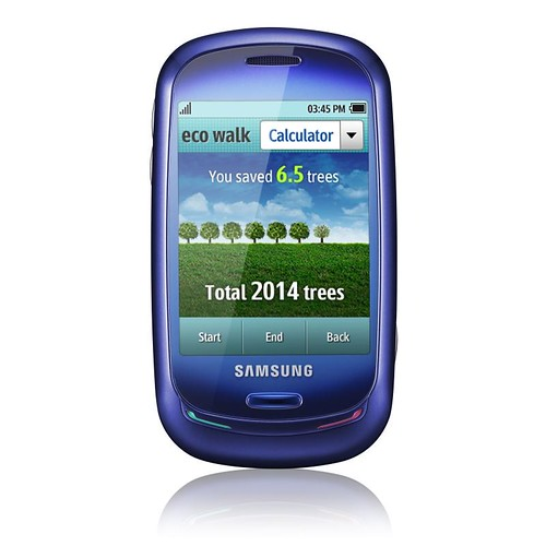 Samsung Blue Earth_front