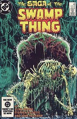 Swamp Thing #28 cover