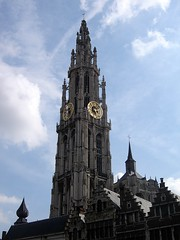 The tower of Cathedral of Our Lady