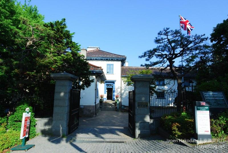 《北海道函馆散策》之二:旧英国领事馆、金森仓库