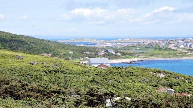 Overlooking Saint-Pierre