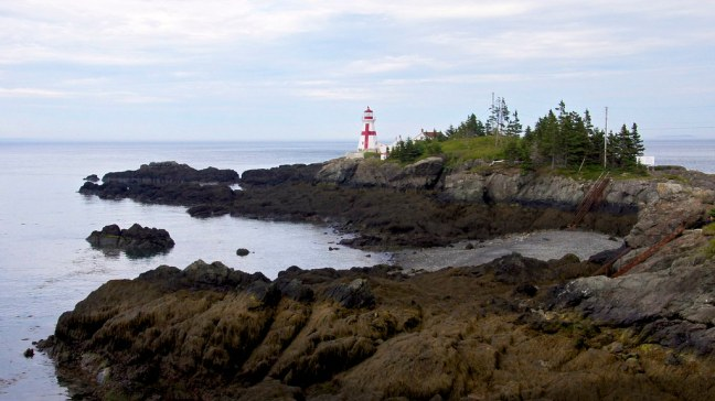 East Quoddy Lighthouse (also known as Head Harbor Lighthouse)