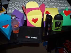 Valentines boxes