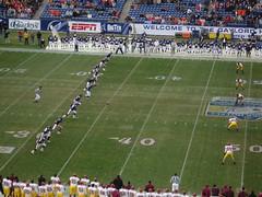 Kickoff, Music City Bowl, 12.30.2005