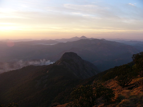 Kumara Parvatha sunrise