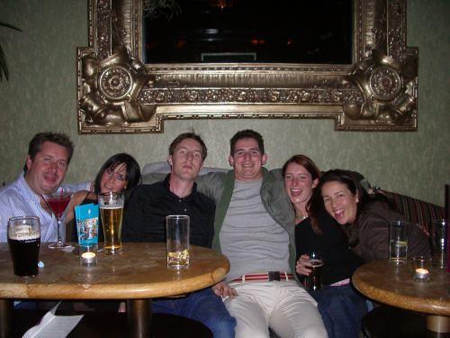 Socialising in Dublin