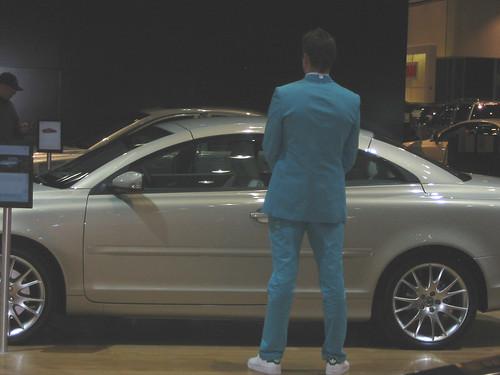 Volvo Blue Suit