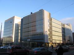 Nokia building in Ruoholahti, Helsinki