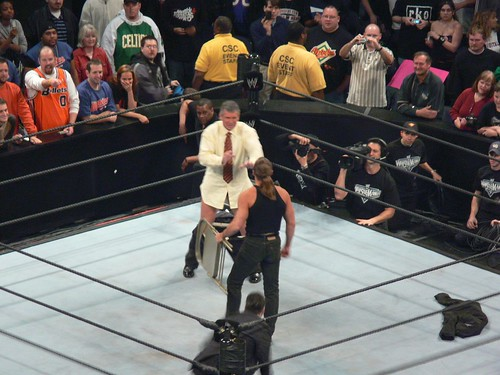 Look out Vince. He has a chair!