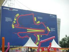 Sepang circuit map