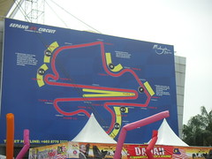 Sepang circuit map