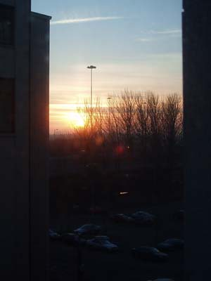 Sunset From The Flat