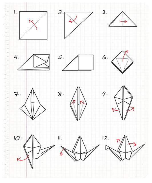 BY MAKE ORIGAMI STEP STEP « EMBROIDERY & ORIGAMI
