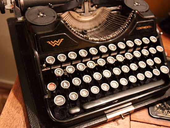 Typewriter, by Petr Kratochvil - 050210