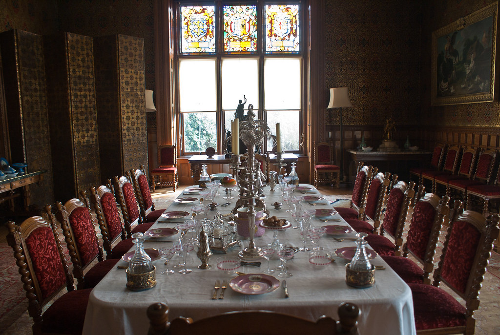 Dining room at Charlecote Park