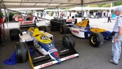Williams @ Festival of Speed 2010