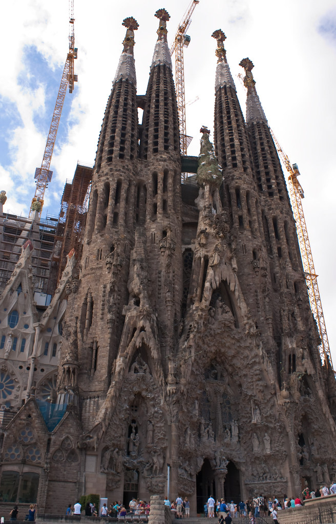 Sagrada Familia | Creation facade