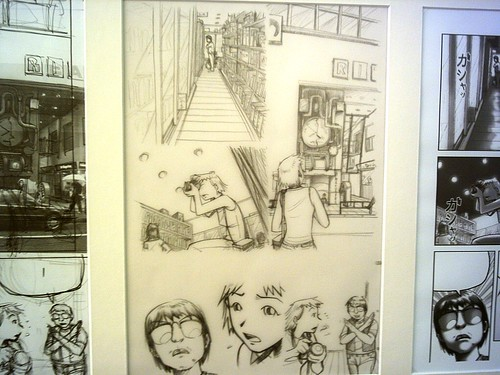 Exposición de comics