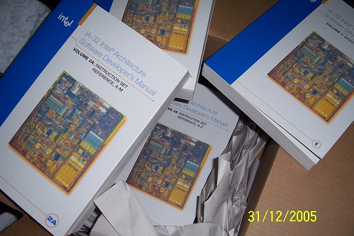 Intel Architecture Books, delivered for FREE by Intel