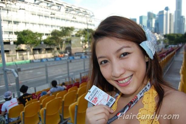 F1 Signapore Grand Prix 2010 - Day 3 Qualifying (26)