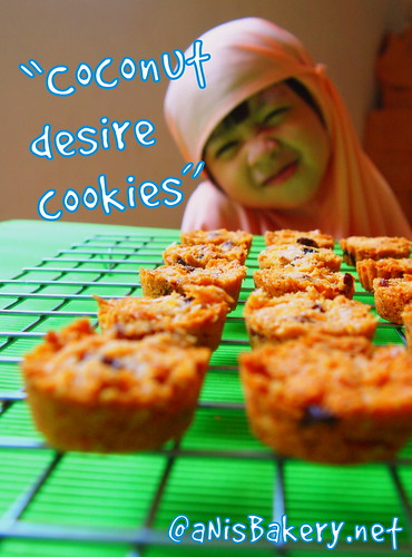 Kuih Raya 2010 : New Coconut Desire Cookies