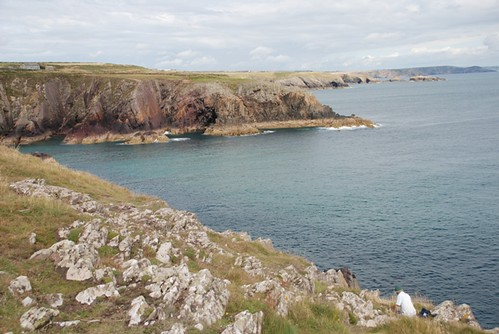 Porth Clais Rocks